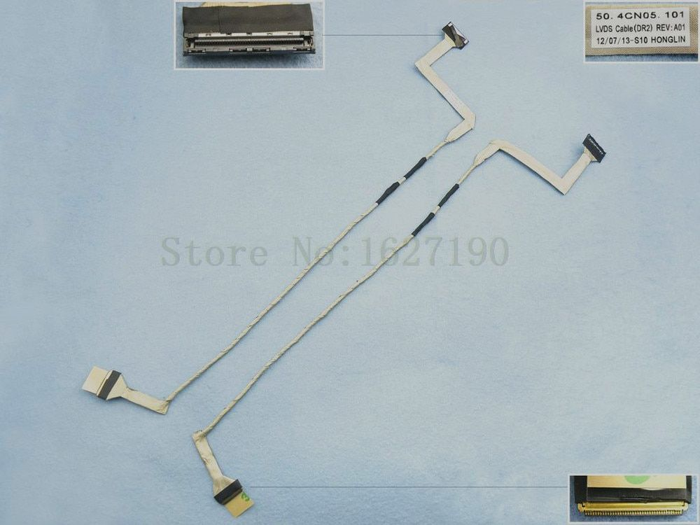 New Original LCD LED Video Flex Cable For DELL INSPIRON 1750 G600T 17.3