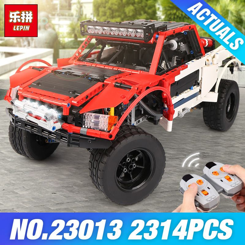 Lepin 23013 Genuine 2314Pcs Technic Series The Remote-Control Off-road Car Set Model Building Blocks Bricks Kits Toys Kids Gifts