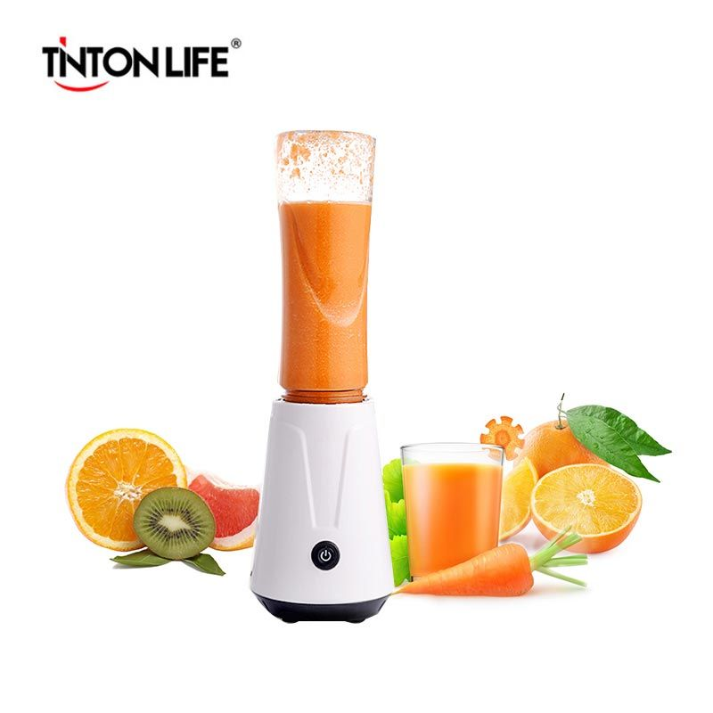 TINTON LIFE Portable Electric Juicer Blender Fruit Baby Food Milkshake Mixer Meat Grinder Multifunction Juice Maker Machine