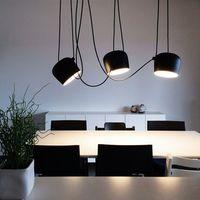 Nórdico modernidad lámparas para el hogar Bar restaurante colgante de interior iluminación LED lámpara colgante lámpara de proyección