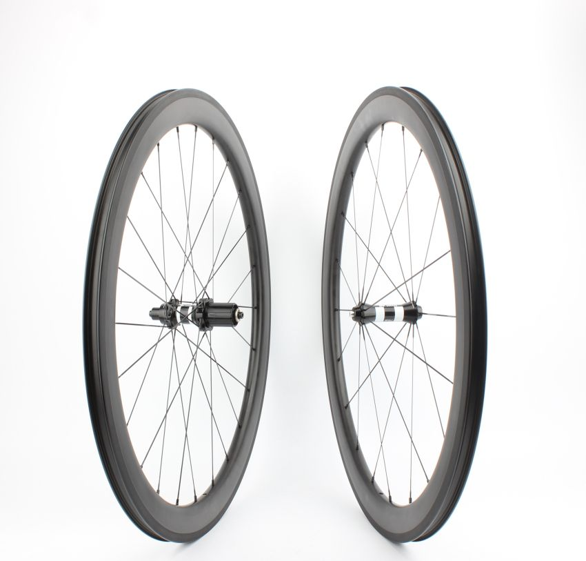 Tubeless Farsports FSC50-CM-25 DT350 hub no outer spoke hole 50 carbon wheel,road 700c bike tubeless clincher rim wheelset