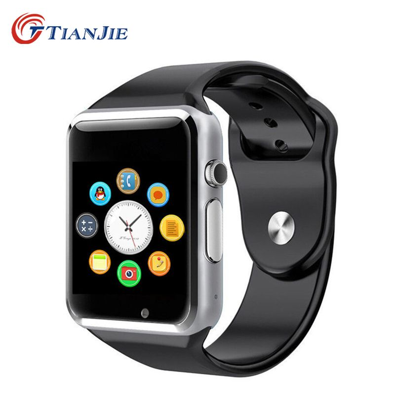 Smartwatch A1Bluetooth Santé Mp3 Étanche Podomètre Dispositif Portable Avec Carte SIM Mobile GSM Android Montre Smart Watch Téléphone