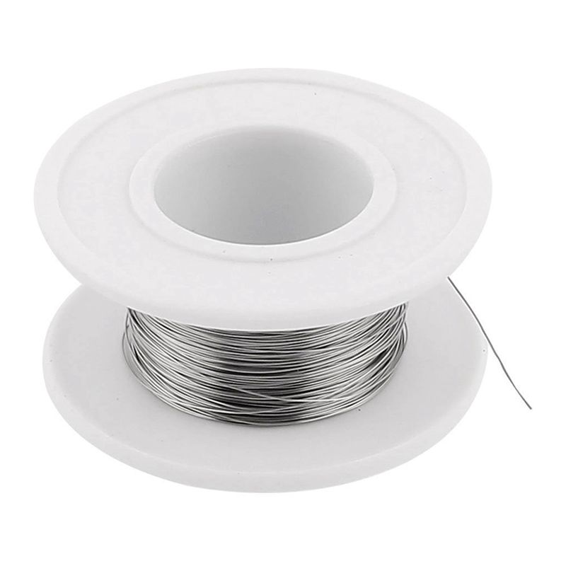 Nichrom 80 0,2mm 32 Gauge AWG 40 Mt Rolle 29,72 Ohm/m Heizung Draht