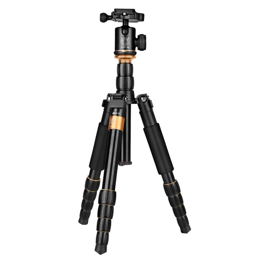 QZSD q278 Pro легкий профессиональный штатив с шаровой головкой для 5 кг Стандартный нагрузки Ёмкость для Canon Nikon DSLR Камера