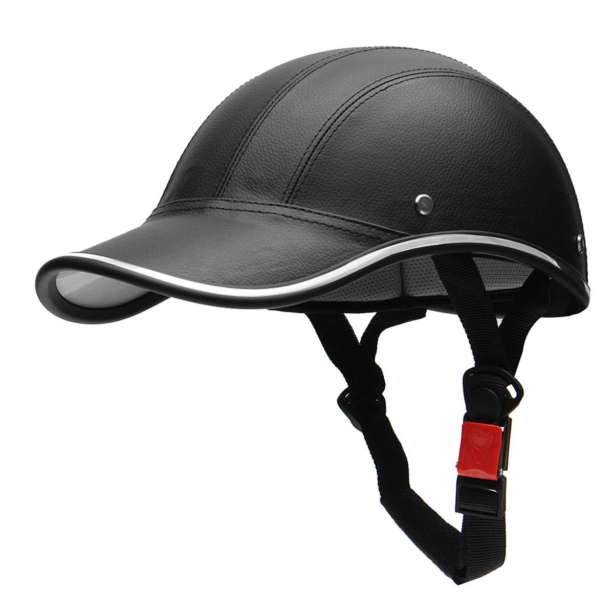 Motorcycle Half Helmet Baseball Cap StyleHalf Face Helmet Electric Bike Scooter Anti-UV Safety Hard Hat