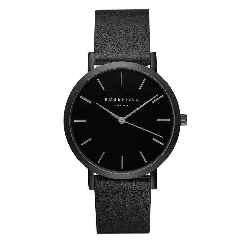 ROSEFIELD Top Watches Men Luxury Brand Quartz Watches Men Leather Watch Business Casual Wristwatch Male Clock Relogio Masculino