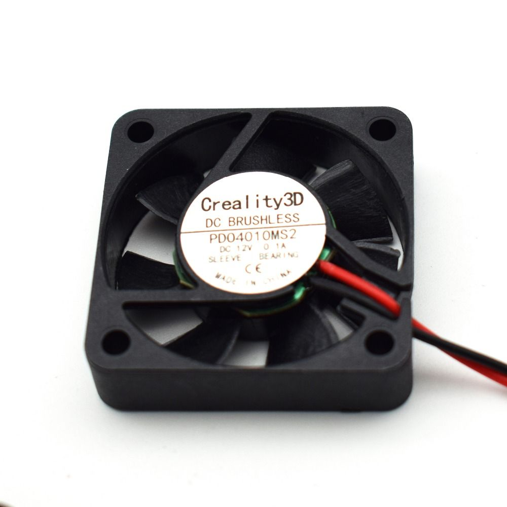 12V Nozzle Cooling Fan 40mmx40mmx10mm 4010 Oil bearing For 3D Printer CR-10