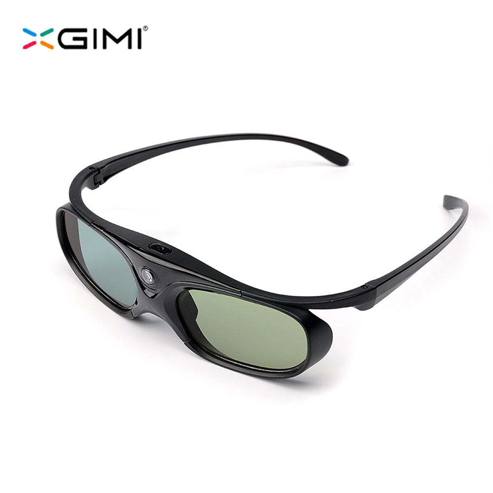 Original XGIMI DLP-Link Liquid Crystal Shutter Rechargeable 3D Glasses for Z4 Aurora and other DLP 3D Projector TV