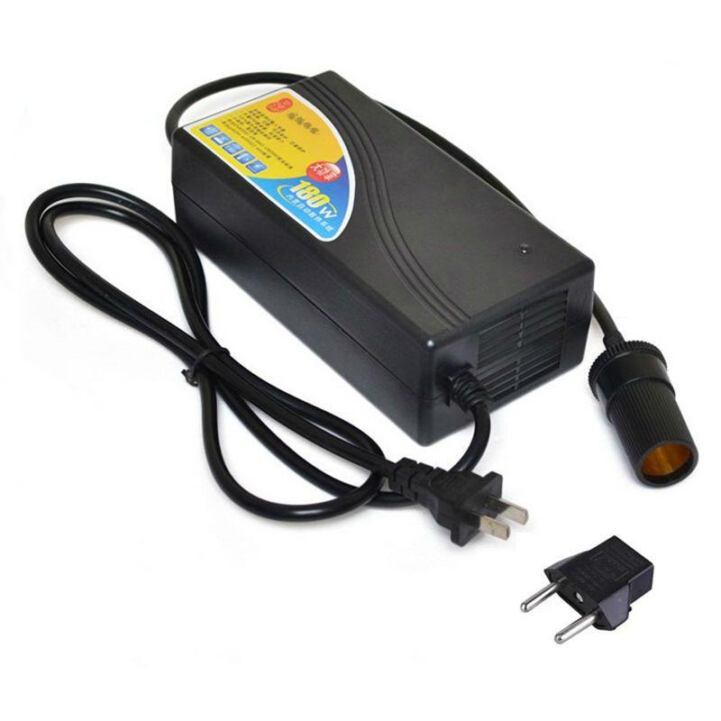 180 W voiture adaptateur 12 V 15A convertisseur de puissance ac 220 v (100 ~ 250 v) entrée dc 12 V sortie adaptateur voiture alimentation allume-cigare prise