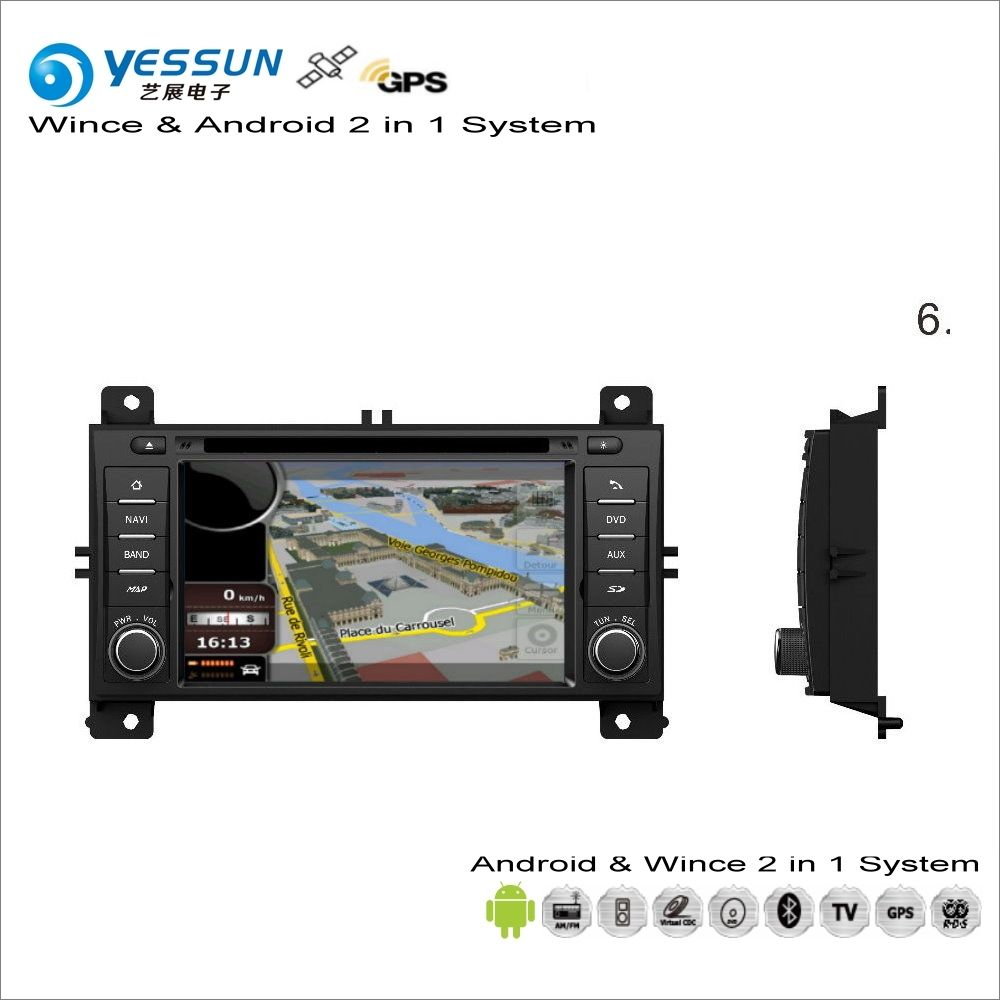 YESSUN For JEEP Grand Cherokee 2011~2013 Car Android Multimedia Radio CD DVD Player GPS Navi Map Navigation Audio Video Stereo