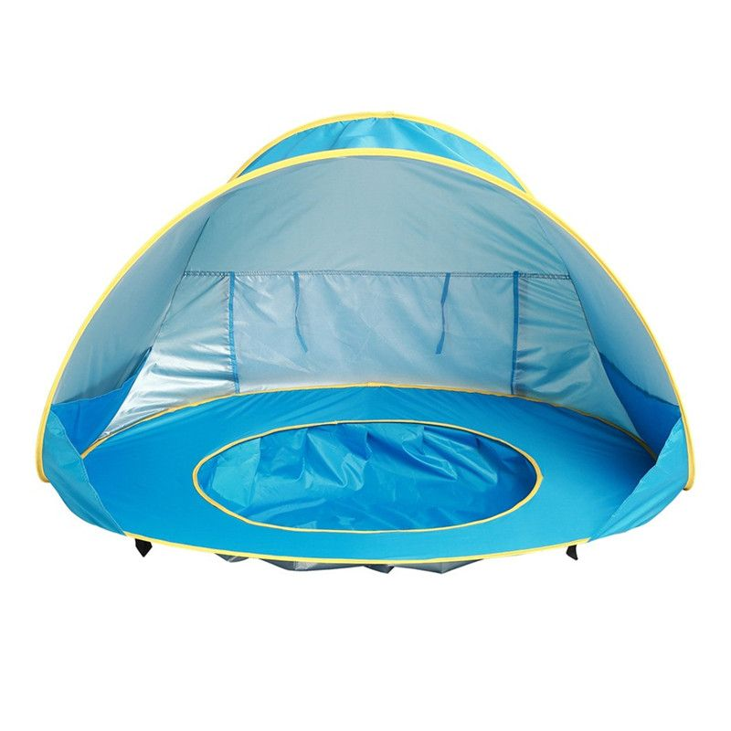 Kids Baby Games Beach Tent Build waterproof Outdoor Swimming Pool Play House Tent Toys beach uv-protecting sunshelter dropship