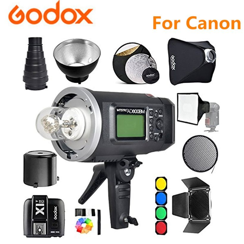 Godox AD600BM Studio Kit Bowens Berg 600Ws GN87 1/8000 HSS Outdoor Flash Strobe Monolight + X1T-C Trigger 32