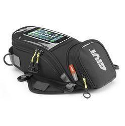 GIVI motocicleta combustible nuevo teléfono móvil navegación bolsa multifuncional pequeño tanque de aceite paquete magnético fijo correas fijos