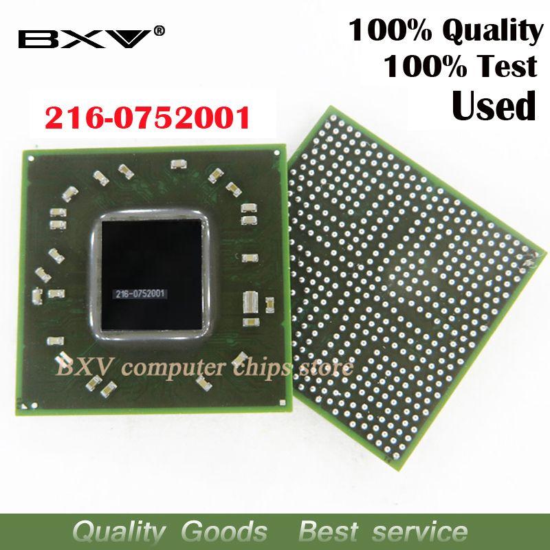 216-0752001 100% test travail très bien reball avec balles BGA chipset pour ordinateur portable livraison gratuite avec message de suivi complet