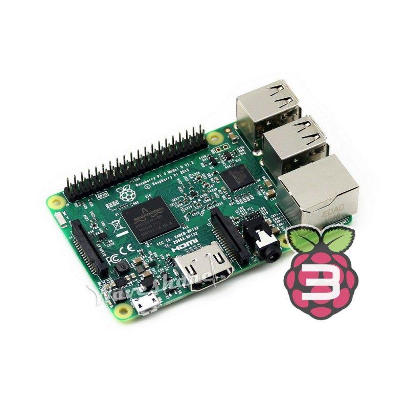 Date Raspberry Pi 3 Modèle B La 3ème Génération Kit 1.2 GHz 64-bit quad-core ARM Cortex-A53 1 GB RAM Support 802.11n Sans Fil LAN