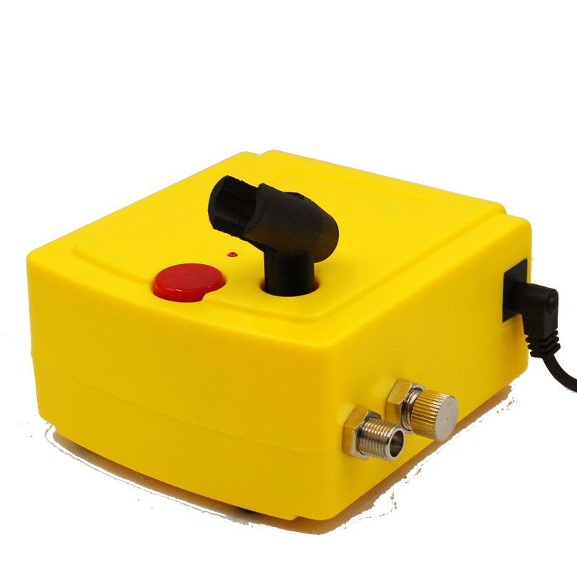 Mini compresseur d'air d'aérographe d'art d'ongle de maquillage pour la peinture de corps de maquillage d'art d'ongle 100-240V