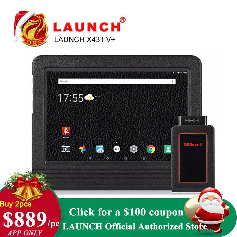 Launch X431 V plus X431 V+ OBD2 Diagnostic Scanner Automotive OBDII Auto Diagnostic Tool Car Bluetooth Wifi Full System OBD 2