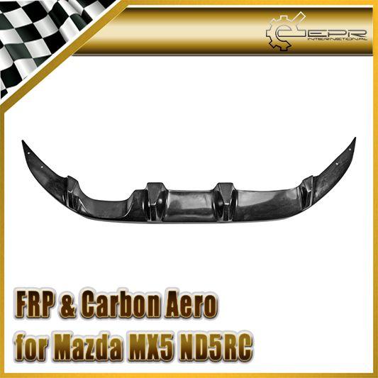 Car-styling FRP Fiberglass Fujimura Auto Rear Diffuser Fiber Glass Back Bumper Accessories For Mazda MX5 ND5RC Miata Roadster
