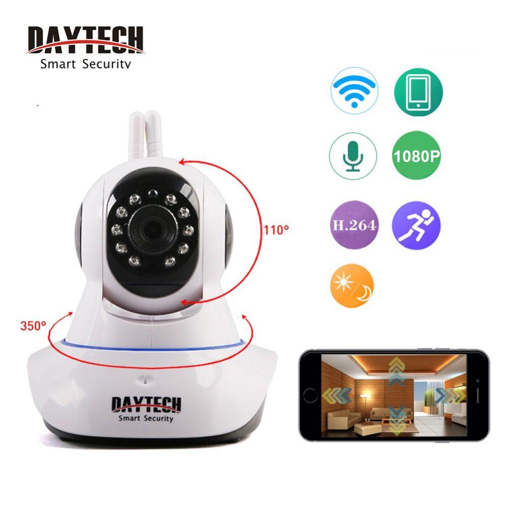 Daytech WiFi caméra IP sécurité à domicile Camera720P/1080 P bébé moniteur deux voies Audio Vision nocturne réseau CCTV Surveillance intérieure