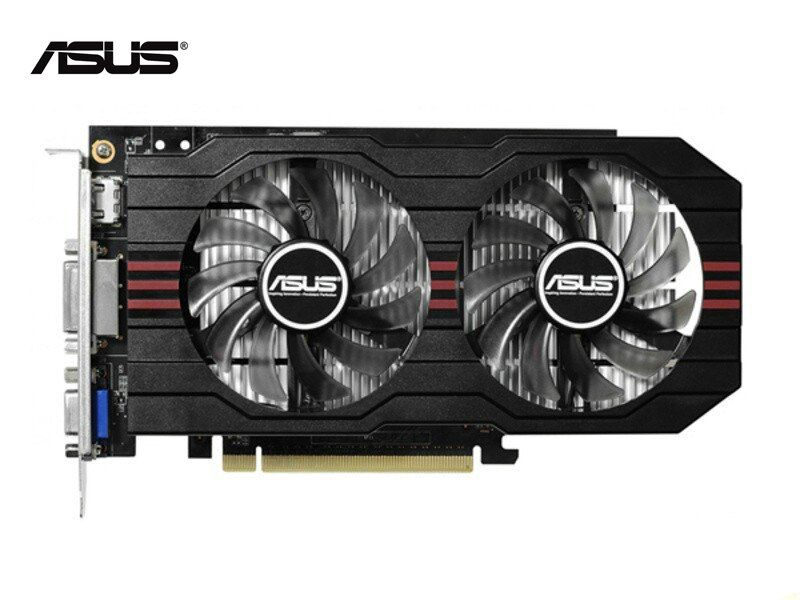 Used,original ASUS GTX 750 2048MB/2GB 128bit GDDR5 Graphic card,100% tested good!