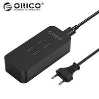 ORICO DCV-4U 20 Вт 4 Порты и разъёмы USB Зарядное устройство с супер зарядки Технология для вашего телефона, Планшеты и многое другое
