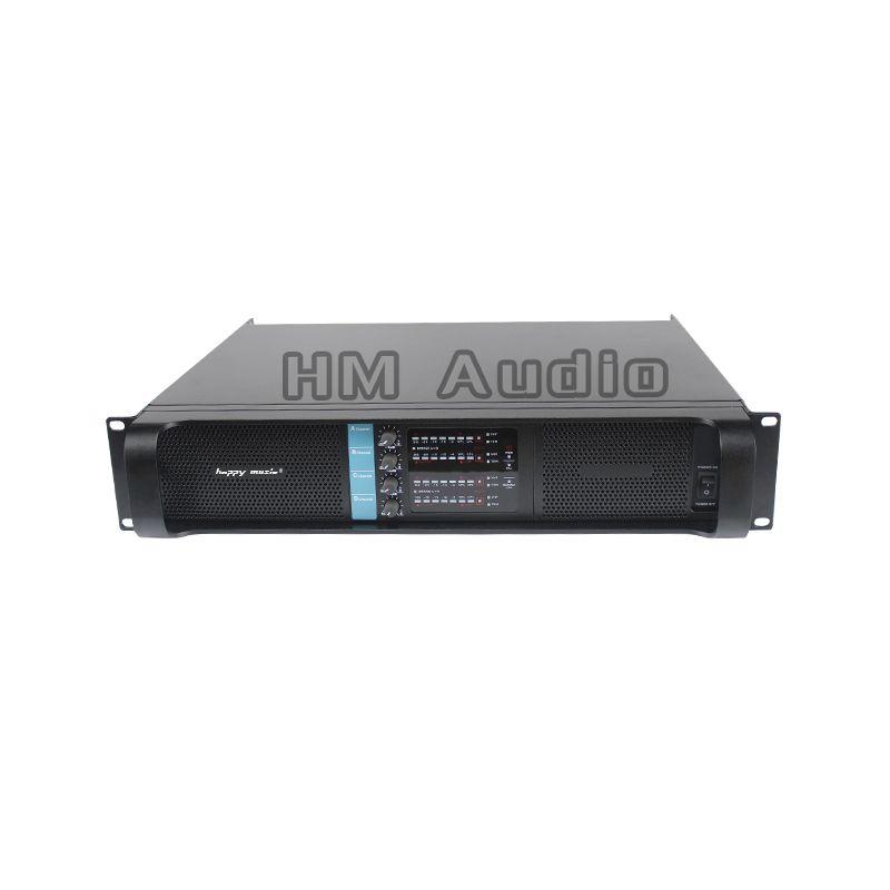 4 channel amplifier H 10000q gruppen line array amplifier professional 4*2500w lab sound power amplifier line amps