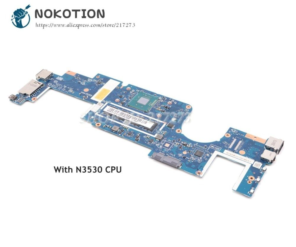 NOKOTION Brand New AIUU1 NM-A201 MAIN BOARD For Lenovo Yoga 2 11 Laptop Motherboard SR1W2 N3530 CPU Onboard