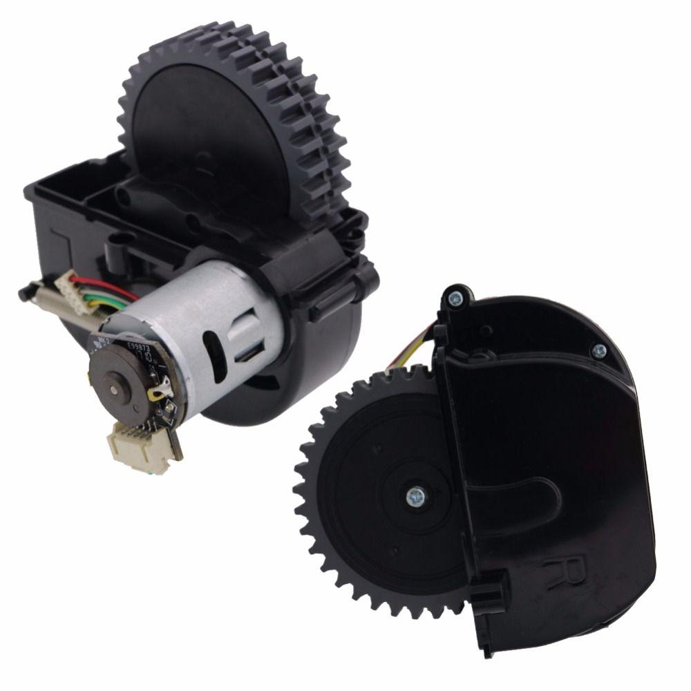 D'origine (Gauche + Droite) roue pour robot aspirateur ilife V3s pro V5s pro ilife V50 V55 robot Aspirateur Pièces comprennent moteur