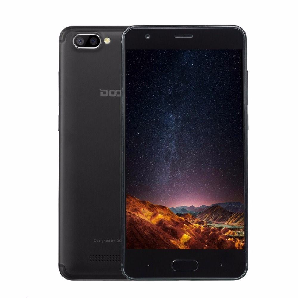 Original Doogee X20 ROM 16GB Smartphone MTK6580 Quad Core 5.0 Inch Android 7.0 RAM 2GB GPS 3G Cellphone OTA Dual Back Camera