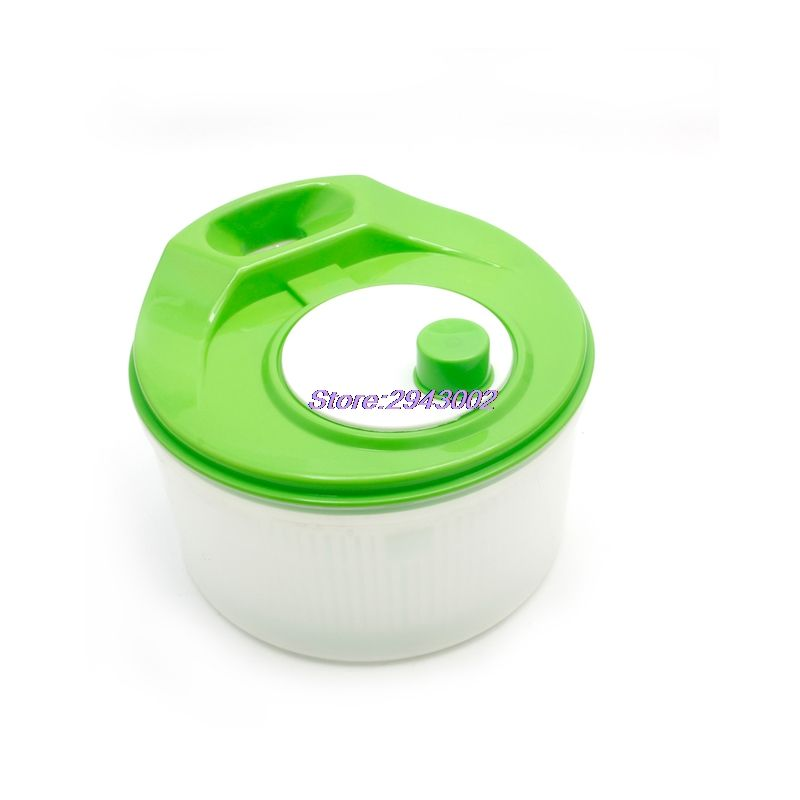Cook Kitchen Vegetable Dehydration Salad Spinner Dryer Colander Strainer Sifter APR10_40