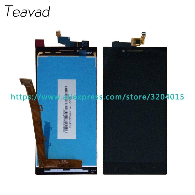Hohe qualität 5,0 ''Für Lenovo P70 P70t LCD Display Mit Touchscreen Digitizer Assembly Ersatzteile Freies verschiffen