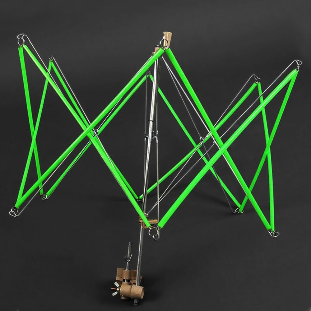 Metal Umbrella Swift Yarn Winder Hand Operated Wool Skeins String Ball Winder Holder Machine Knitting Sewing Accessories Tools