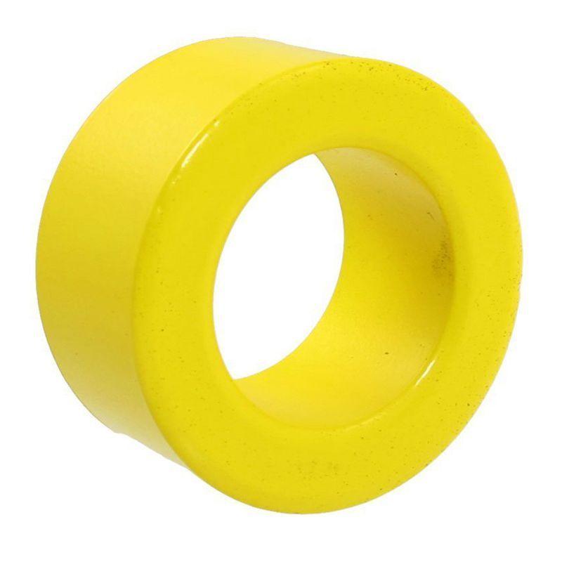 40mm x 24mm x 15mm Yellow White Iron Core Power Inductor Ferrite Ring