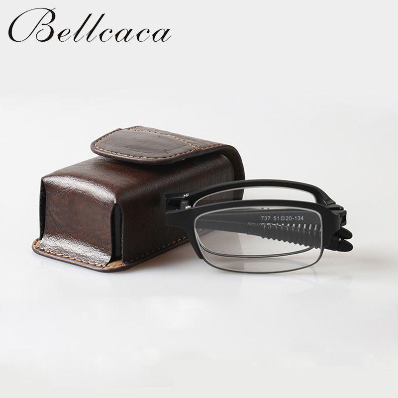 TR90 Mini Klapp Magnetische Lesebrille Männer Frauen Dioptrien Presbyopie Brillen Faltbare + 1,0 + 1,5 + 2,0 + 2,5 + 3,0 + 3,5 + 4,0 BC134