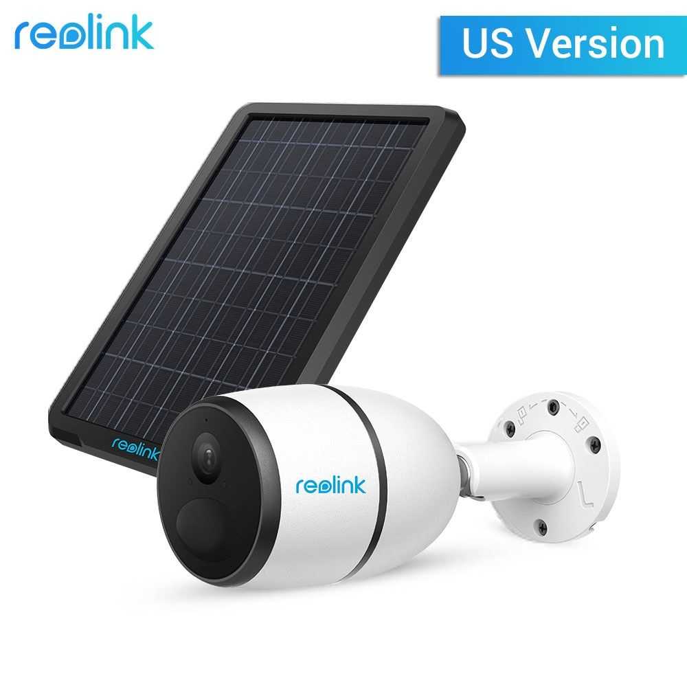 Reolink GEHEN mit Solar Panel Batterie 4G Sim Karte Netzwerk Kamera Sternenlicht Vision Wilden Video Überwachung IP Cam für UNS NUR