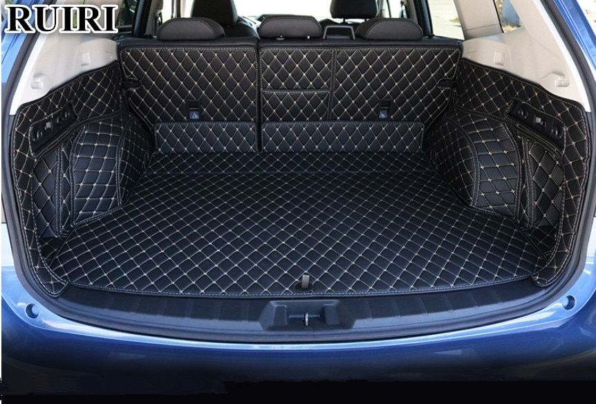 Top quality! Special car trunk mats for Subaru Forester 2019 waterproof boot carpets cargo liner for Forester 2019,Free shipping