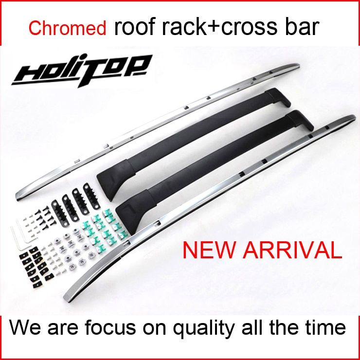New arrival aluminum luggage rack roof rail roof rack cross beam for Mazda CX-5 2017 2018+,with screws.strongly recomended.