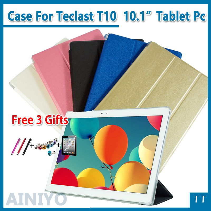Ultra thin fashion pu leather case For Teclast T10 10.1