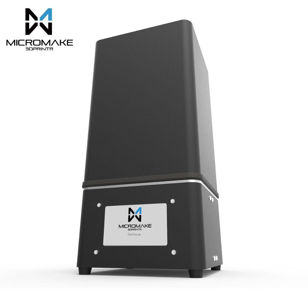 Micromake 2017 L2 UV Harz 3d-drucker SLA/DLP 3D Drucker mit touchscreen LCD lichthärtendes Hohe genauigkeit