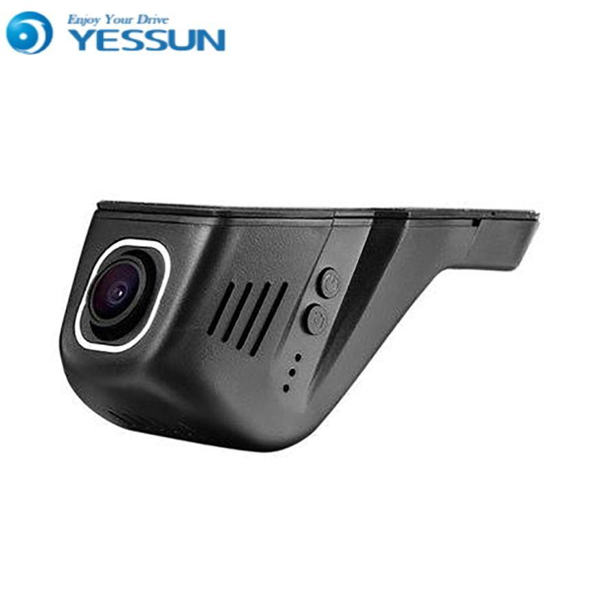 For Hyundai Santa / Car Driving Video Recorder DVR Mini Control APP Wifi Camera Black Box / Registrator Dash Cam Original Style