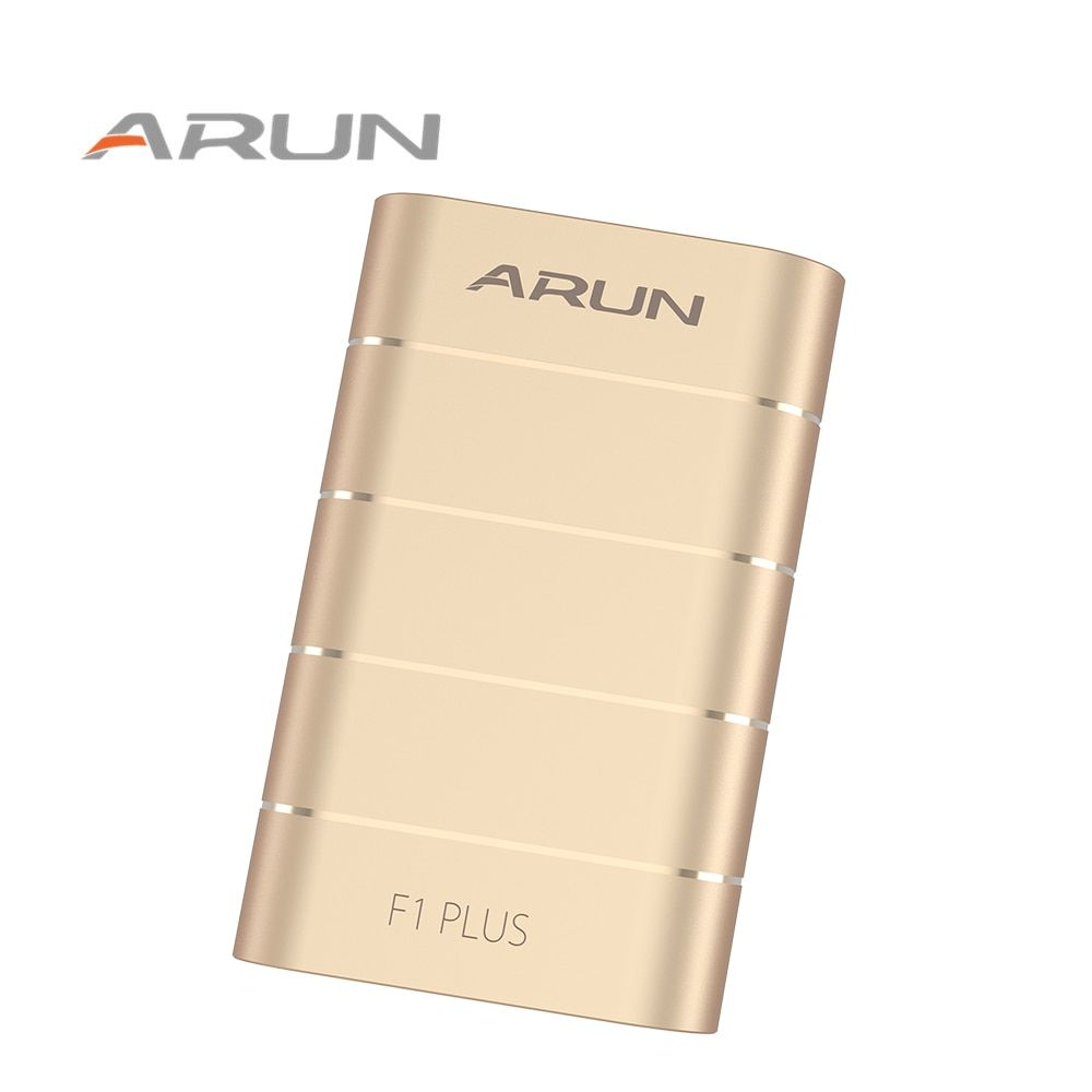 ARUN F1PLUS 10000mah Quick Charge External Battery Charger <font><b>Fast</b></font> Charging Portable Power Bank for Samsung iPhone 6s Xiaomi Huawei
