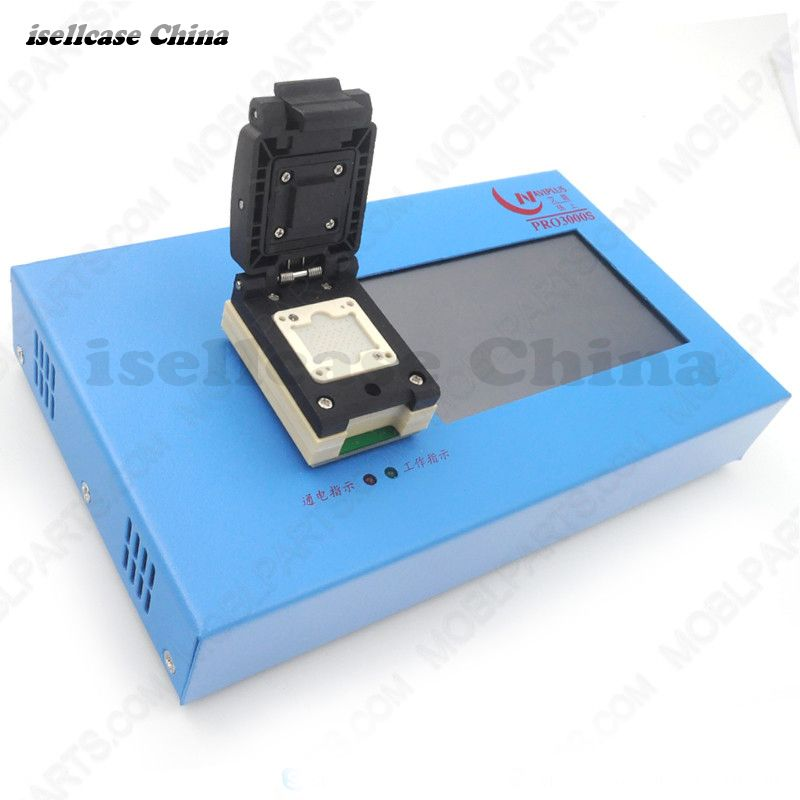 PRO3000S 32 64 Bit for NAND Flash IC Chip Programmer Tool Fix Repair Motherboard HDD Chip Serial Number SN Model for iPhone iPad