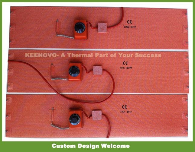 200*860mm Flexible Silicone Drum Heater Keenovo Silicon Rubber Heater 20 ltr Drums 1 Year Warranty&Certified ,Free Shipping