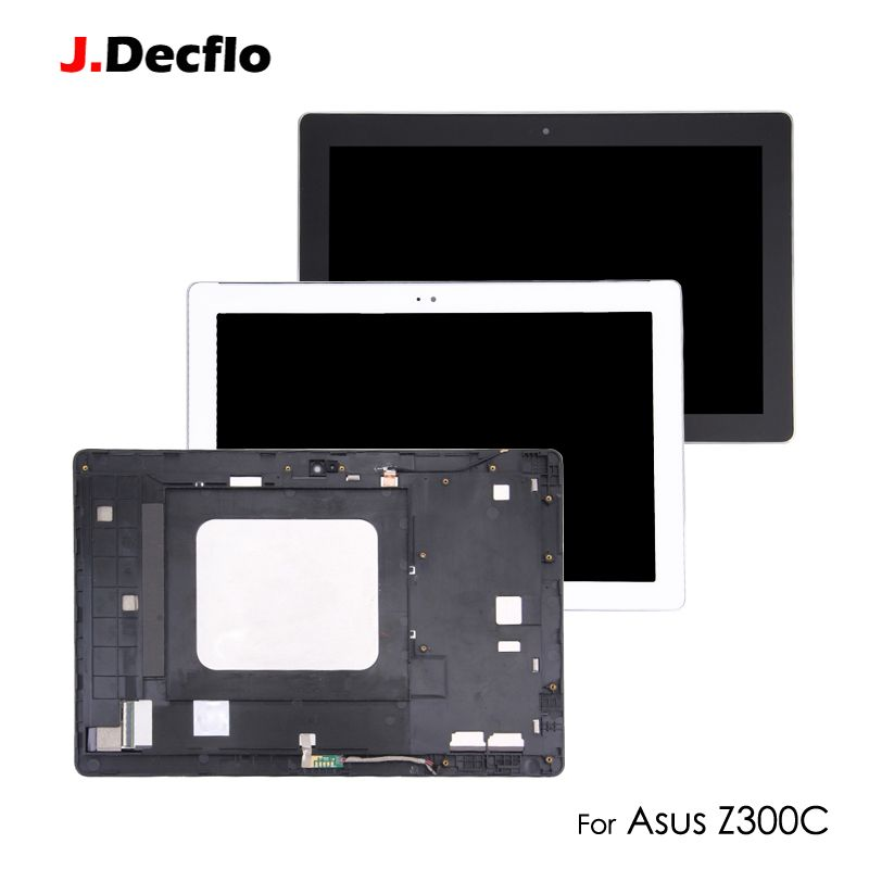 Original LCD Display Panel For ASUS ZenPad 10 Z300 Z300C Z300M P021 Touch Screen Digitizer Tablet with Bezel Frame Assembly
