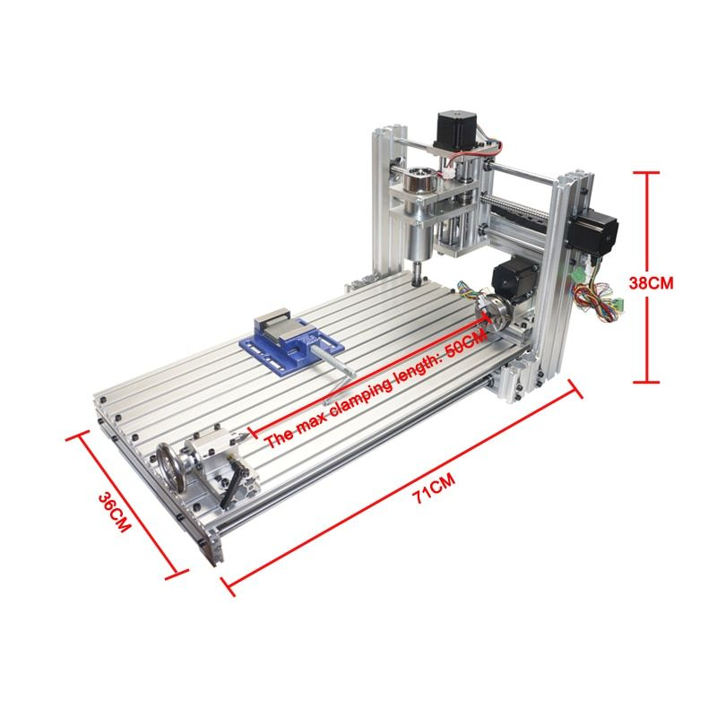 CNC Engraving Machine Frame 3060 DIY wood Router 6030 wooden engraver