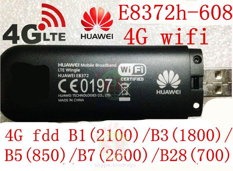 Unlocked Huawei E8372h-608 4g 3g usb wifi modem 3g 4g car wifi stick E8372 lte 3g 4G Wifi router 4G mifi Modem PK E8278 e8377