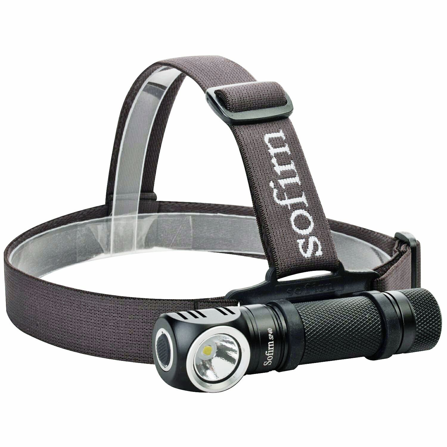 Sofirn SP40 Headlamp LED Cree XPL 18650 Rechargeable USB Charging Power Indicator 18350 1200lm Outdoor Lighting Magnet Tail Cup