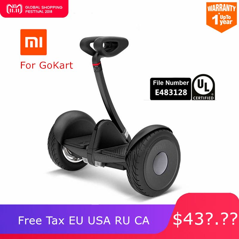 Original Ninebot Xiaomi Mijia Mini Selbst Salance Roller Zwei Rad Smart Elektrische Roller Hoverboard Skate Board Für Go-kart-Kit