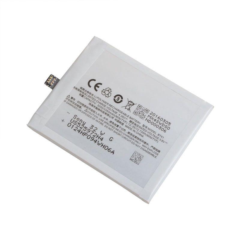 Matcheasy 100% Original Backup für MX4 Pro BT41 Batterie 3350 mAh Smart Handy für MX4 Pro BT41 Tracking Keine