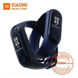 Глобальная версия Xiaomi mi Band 3 mi band 3 Smart Tracker Band мгновенное сообщение 5ATM водонепроницаемый OLED сенсорный экран mi Band 3